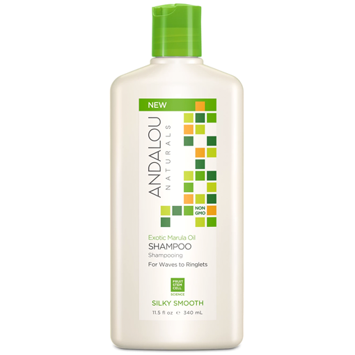 Picture of Andalou Naturals Shampoo, Marula Oil, 340ml