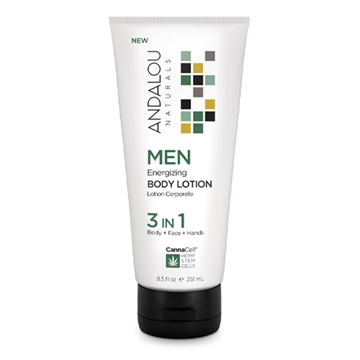 Picture of Andalou Naturals Men Energizing Body Lotion, 251ml