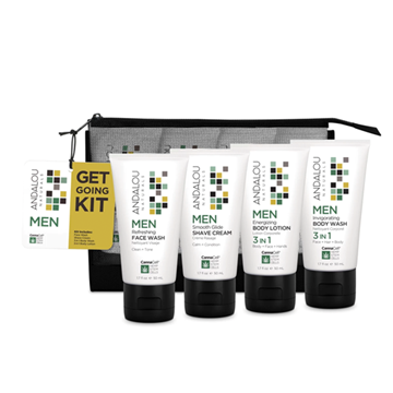 Picture of  Men Get Going Kit, 4 Piece Set