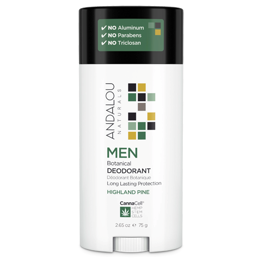 Picture of Andalou Naturals Men Botanical Deodorant - Highland Pine, 75g