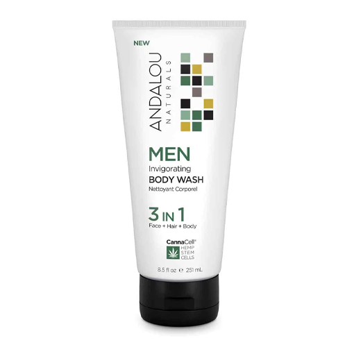 Picture of Andalou Naturals Men Invigorating Body Wash 3 IN 1, 251ml