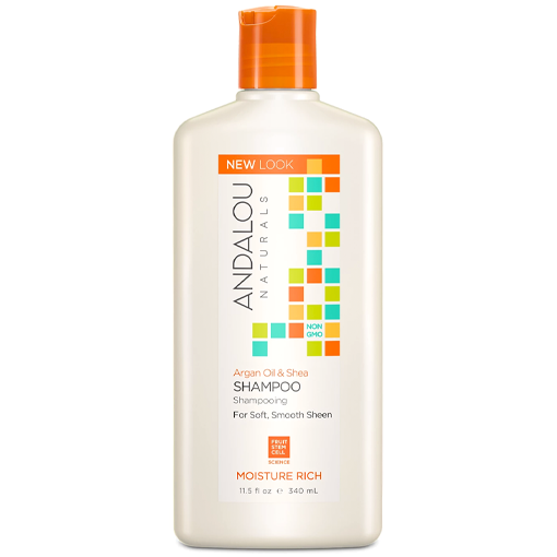 Picture of Andalou Naturals Argan Oil & Shea Moisture Rich Shampoo, 340ml