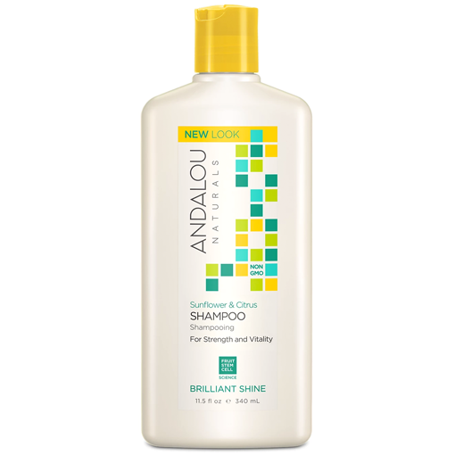 Picture of Andalou Naturals Sunflower & Citrus Shine Shampoo, 340ml