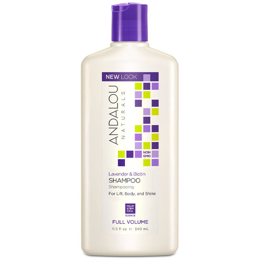 Picture of Andalou Naturals Lavender & Biotin Full Volume Shampoo, 340ml