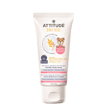 Picture of Attitude Baby Natural Baby Diaper Zinc Cream, 75g
