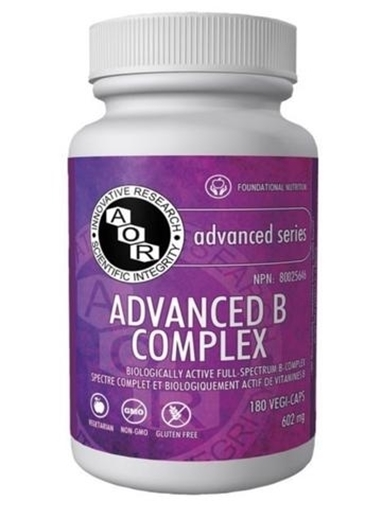 Picture of AOR Advanced B Complex  180 Capsules