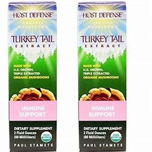 Picture of Host Defense Turkey Tail (Trametes Versicolor) Extract, 2 fl. oz