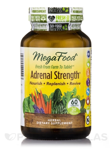 Picture of MegaFood Adrenal Strength, 60 tabs