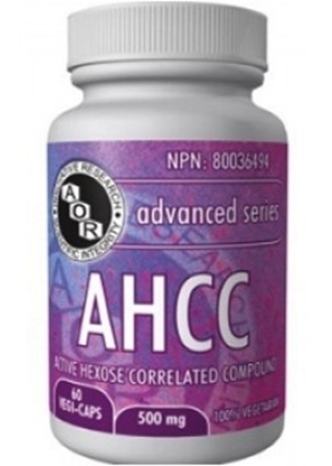 Picture of AOR AHCC 60 Capsules
