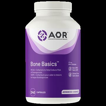 Picture of AOR Bone Basics 240 Capsules