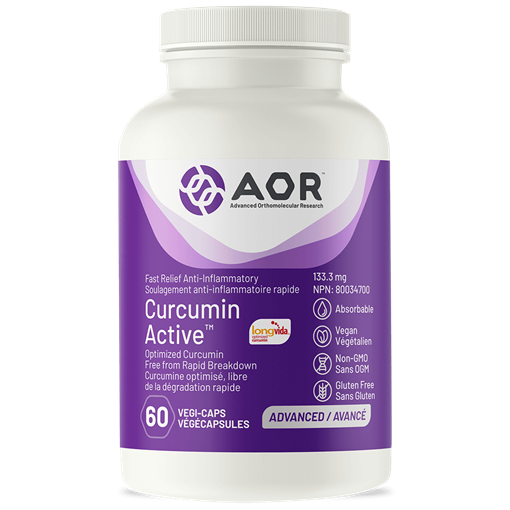 Picture of AOR Curcumin Active, 60 caps