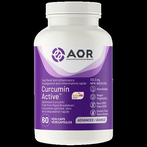 Picture of AOR Curcumin Active 60 Capsules