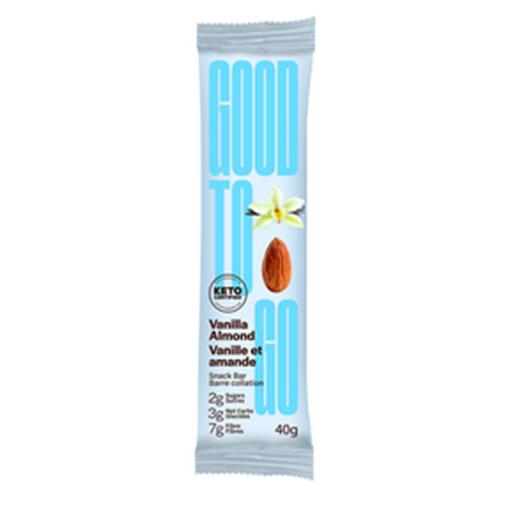 Picture of GOODTO GO Vanilla Almond Keto Bars, 9x40g