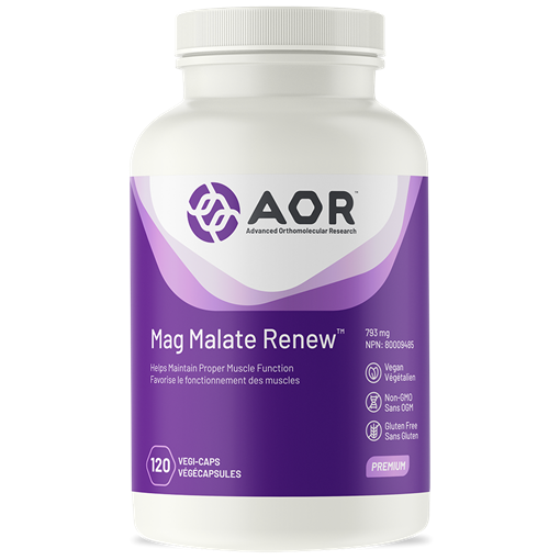 Picture of AOR Mag Malate Renew 120s