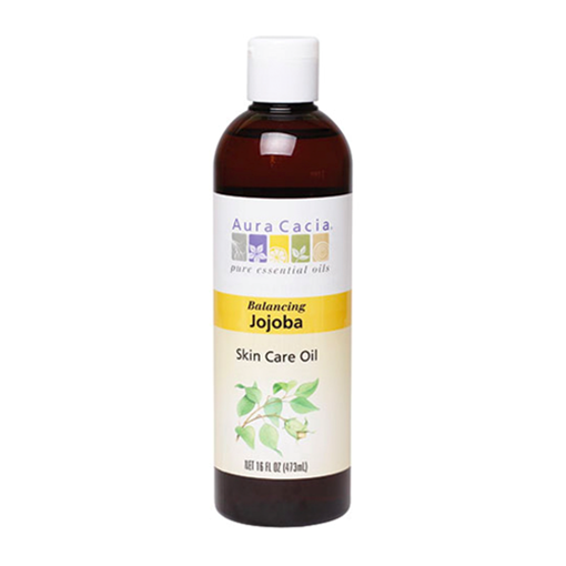Picture of Aura Cacia Jojoba Skin Care Oil, 473ml