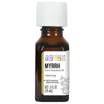 Picture of Aura Cacia Myrrh Essential Oil, 15ml