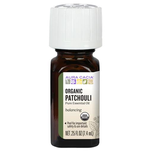 Picture of Aura Cacia Organic Patchouli Essential Oil, 7.4ml