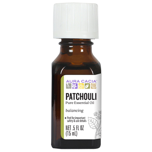 Picture of Aura Cacia Patchouli Essential Oil, 15ml