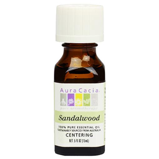Picture of Aura Cacia Sandalwood Essential Oil, 15ml