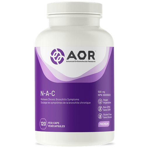 Picture of AOR N-A-C 120 Capsules