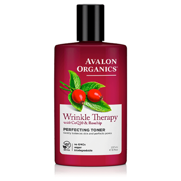 Picture of Avalon Organics Wrinkle Therapy Perfecting Toner, 237ml