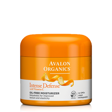 Picture of Avalon Organics Intense Defense Oil-Free Moisturizer, 57g
