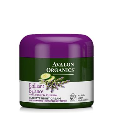 Picture of Avalon Organics Brilliant Balance Ultimate Night Cream, 57g
