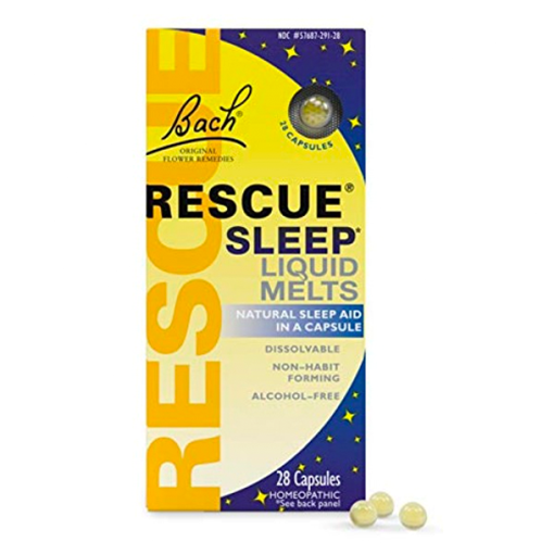Picture of Bach Rescue Night Liquid Melts, 28 Capsules