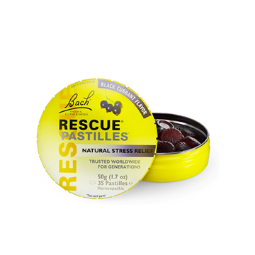 Picture of  Rescue Pastilles Black Currant, 50g