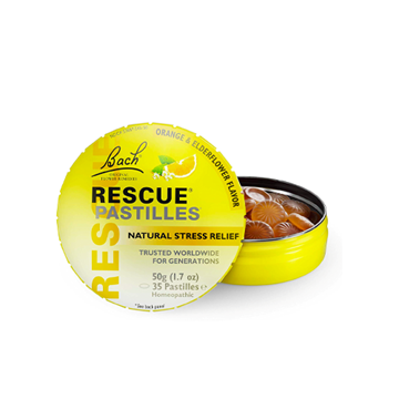 Picture of  Rescue Pastilles Orange & Elderflower, 50g