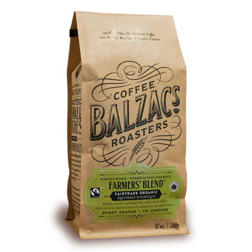 Picture of Balzac's Coffee Roasters Farmers' Blend - Marble Roast 340g