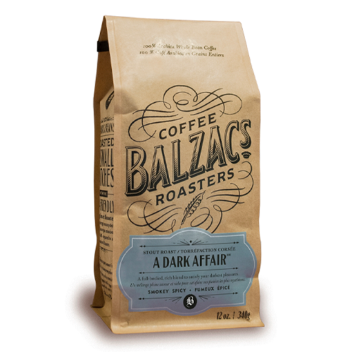 Picture of Balzac's Coffee Roasters A Dark Affair Stout Roast, 340g