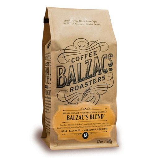 Picture of Balzac's Coffee Roasters Balzac's Blend Marble Roast, 340g