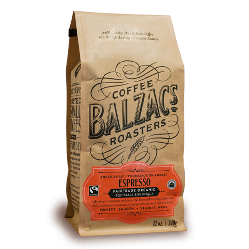 Picture of Balzac's Coffee Roasters Espresso Blend Amber Roast, 340g