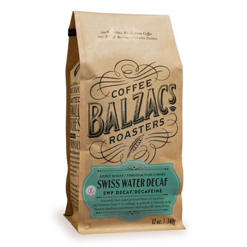 Picture of Balzac's Coffee Roasters Swiss Water Decaf Stout Roast, 340g