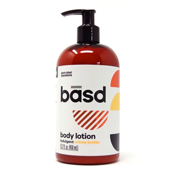 Picture of basd body care Indulgent Body Lotion, Creme Brulee 450ml