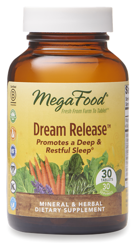 Picture of MegaFood Dream Release, 30 tabs