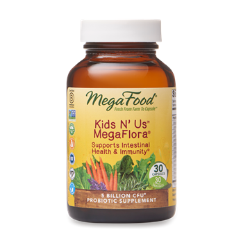 Picture of  Kid's N' Us MegaFlora (5 billion active probiotics), 30 caps