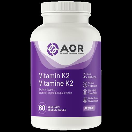 Picture of AOR Vitamin K2, 60 caps