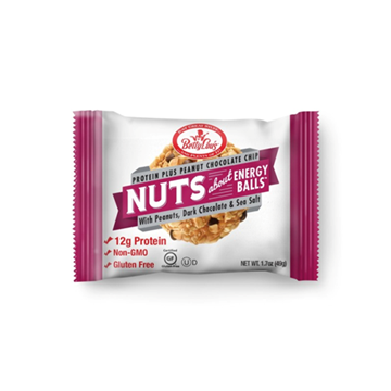 Picture of  Nuts About Energy Balls Protein Plus, Peanut Butter Chocolate Chip 12x49g