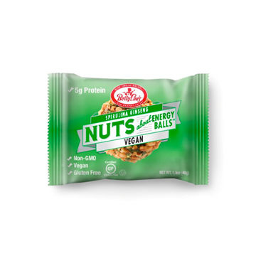 Picture of  Nuts About Energy Balls, Spirulina Ginseng 12x40g