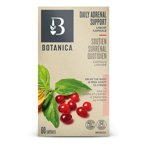 Picture of Botanica Daily Adrenal Support, 60 Liquid Caps