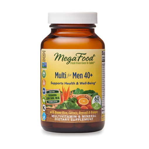 Picture of MegaFood Multi for Men 40+,  60 tabs
