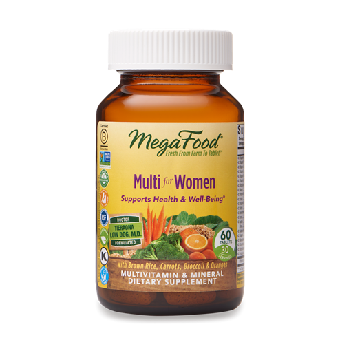 Picture of MegaFood Multi for Women 60 tabs