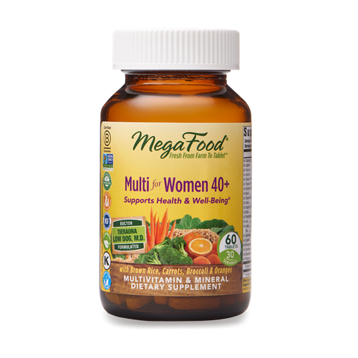 Picture of MegaFood Multi for Women 40+, 60 tabs