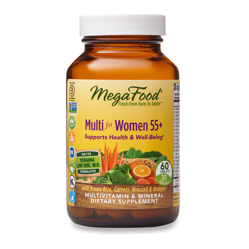 Picture of MegaFood Multi for Women 55+, 60 tabs