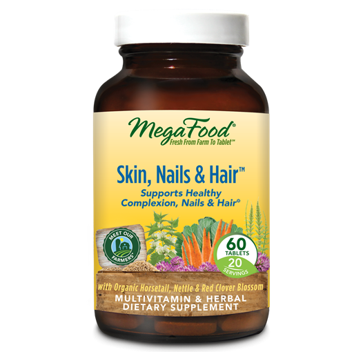 Picture of MegaFood Skin, Nails & Hair, 60 tabs