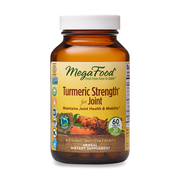 Picture of  Mega Foods Turmeric Strength for Joint, 60 tabs