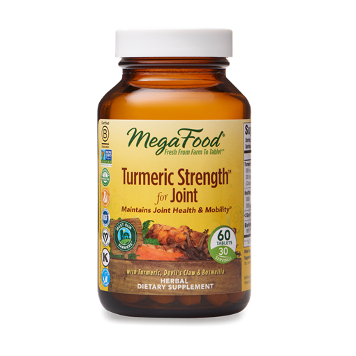 Picture of MegaFood Mega Foods Turmeric Strength for Joint, 60 tabs