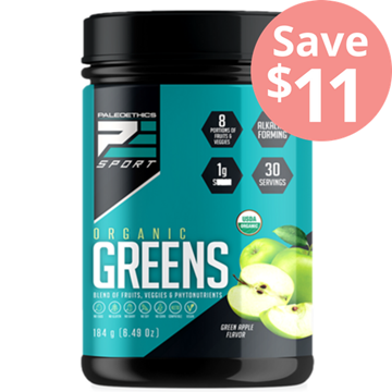 Picture of Paleoethics PaleoEthics Organic Greens, Green Apple 173g